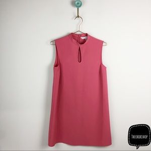 Cupcakes and cashmere mock neck shift dress